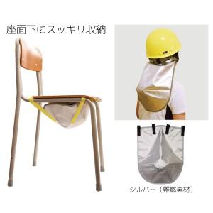 ヘルメット防炎頭巾