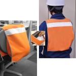 避難所の二次災害防止にヘルメット